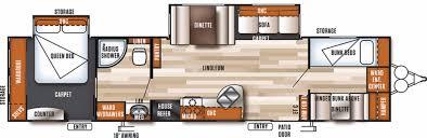 salem travel trailers floor plans forest river salem 36bhbs rvs for sale camping world rv sales