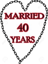 40 ans de mariage humour mariage humoristique mariage anniversaire enchaîné depuis 40
