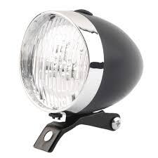 shop 2016 retro bicycle bike 3 led front light headlight