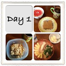 day 1 of the 3 day military diet nutrición y dietas