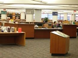 Library Reference Desk Dallas Public Library Fine Arts