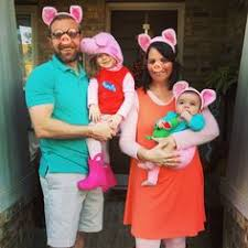 Pig Toddler Halloween Costume Peppa Pig Family Costumes Diy Halloweenie Costumes