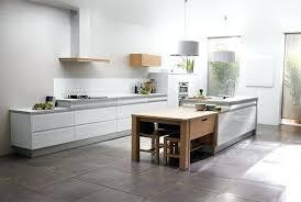 cuisine laqu bois et blanc trendy amazing cuisine blanche photos de cuisinistes