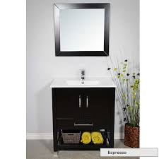 small 32 inch pre made bath vanity modernbathrooms ca