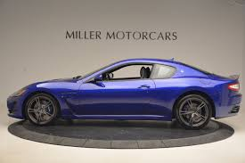 maserati blue 2017 2017 maserati granturismo special edition sport 8 out of 40 made