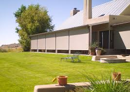 Wind Screens For Decks by Patio Wind Screens Retractable Screens Drops Patio Wind Management