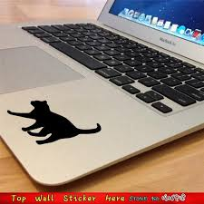 computer notebook stickers home decor mirror decals wall paper cat