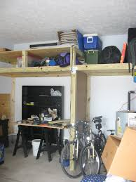 garage storage loft not living vicariously