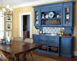 blue and yellow kitchen ideas white dining room hutch cobalt blue and yellow kitchen blue and