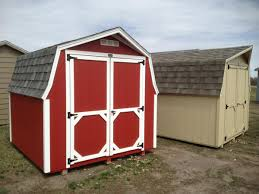Red Barn Kennel Low Barn Quality Storage Buildings