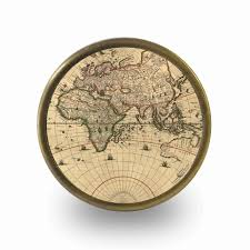 Map Compass Unique Home Accessories Homeware And Decor Vintage Light Brown