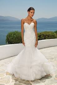 mermaid wedding dress mermaid wedding dresses justin