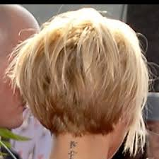pictures of hairstyle neck line stacked short haircuts hair style and color for woman
