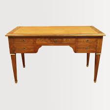 bureau leclercq flat desk with all mahogany sides of cuba desks