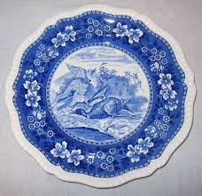 antique duck plate by spode copeland china made in