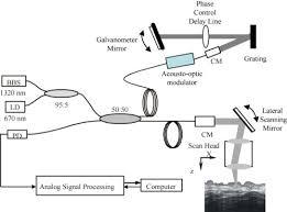 osa high speed optical coherence tomography using fiberoptic
