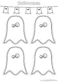 imagenes de halloween para imprimir y colorear dibujos fantasmas de halloween para imprimir y recortar todos los