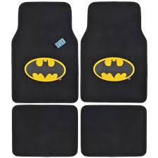 batman jeep accessories amazon com bdk wbmt 1301 batman carpet car floor mats black