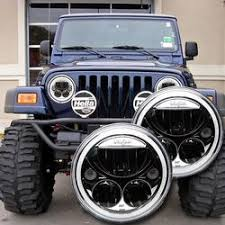 headlights jeep wrangler jeep wrangler led and hid lighting upgrades