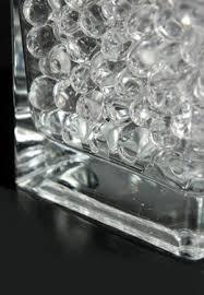 Clear Vase Gems Jumbo Clear Water Pearls 177ml