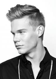 male hairstyles shaved sides long top
