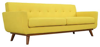 sunny upholstered sofa midcentury sofas by shopladder