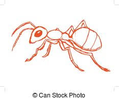 red ant vector clip art illustrations 686 red ant clipart eps