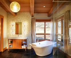 42 exceptional rustic bathroom designs filled with coziness and