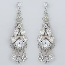 bridal chandelier earrings jayne bridal jewelry wedding earrings bridal
