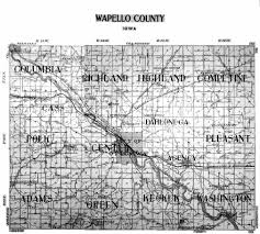 Floyd Va Map Iowa County Map
