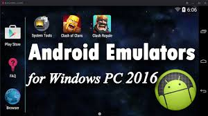 android emulator windows top 5 best free android emulators for windows pc 2016