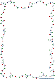 fun free christmas lights clipart ready personal