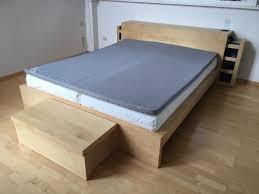 schlafzimmer mit malm bett malm ikea bett birke eyesopen co