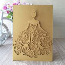 Special Invitation Cards Serena Invitation Card Holder Young Women And Laser Cutting