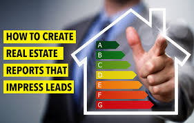 how to create real estate reports