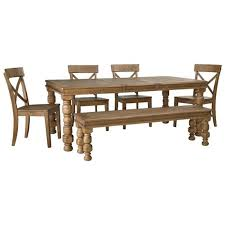 d659 35 ashley furniture rectangular dining room extension table