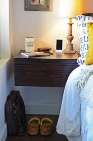 wall mounted drawer floating nightstand mayan espresso woodwaves