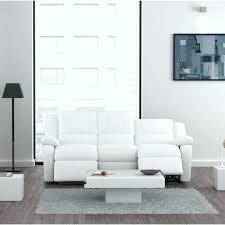 canap blanc 3 places canape design relax cuir blanc canapa sofa divan canapac 3 places