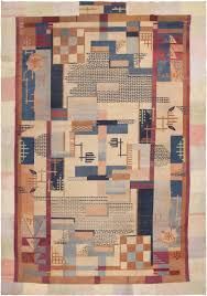 Modern Patterned Rugs by Art Deco Rug Modern Indian Carpet 44979 By Nazmiyal