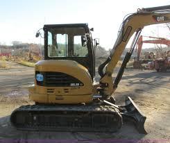 2011 caterpillar 305 5d cr mini excavator item i4217 sol