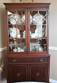 Corner Cabinet Dining Room Hutch Finally Found A Picture Of How To Arrange My Dining Cabinet