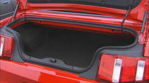 mustang convertible trunk 2011 ford mustang v6 convertible drivencarreviews com