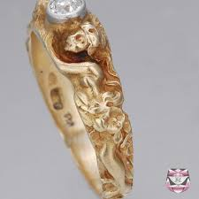 jewelry mens rings antique art nouveau ring