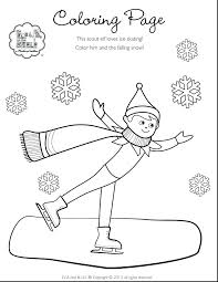 free printable coloring pages of elves shelf elf on the shelf coloring pages free printable medium size of