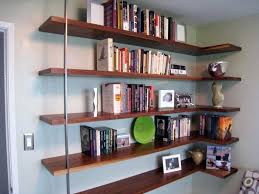 Ikea Invisible Bookshelf Bookcase Floating Bookcase For Home Storages Retro Floating