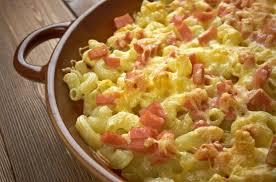 cuisiner pates recette gratin de pâtes aux lardons à la mozzarella 750g