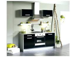 meuble haut cuisine noir laqué cuisine meuble de noir laque plan travail bas