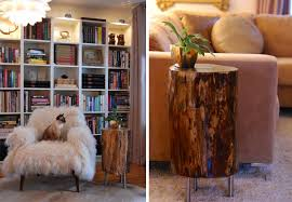 Wood Stump Coffee Table Diy Tree Stump Side Table U2013 Design U0026 Trend Report 2modern