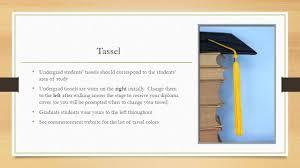 graduation tassel colors helpful graduation tips the graduates guide to a successful