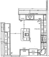 kitchen plans with island best kitchen with island floor plans gallery home decorating